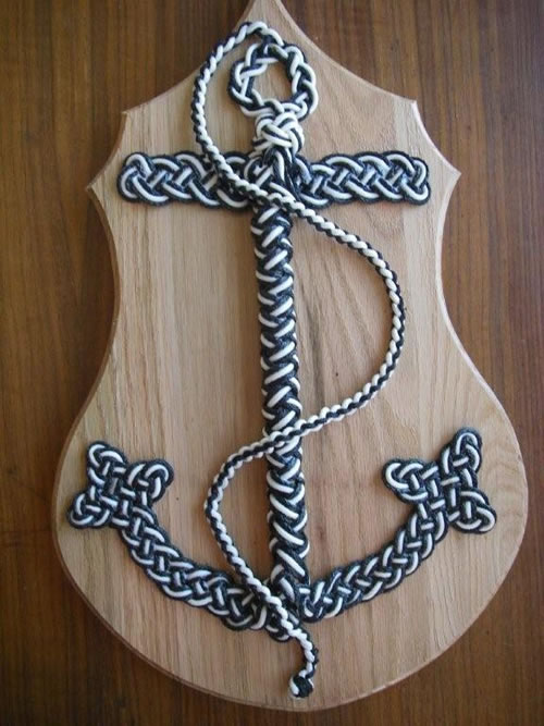 Real Anchor With Rope